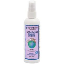 Earthbath 3-in-1 Lavender Deodorizing Spritz for Dogs, 8-oz SKU 0264402205