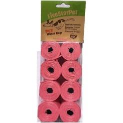 Five Star Pet Waste Bags, Pink, 120 Count SKU 5791000149