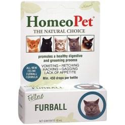 HomeoPet Feline Furball Cat Supplement, 15-mL SKU 0495914767
