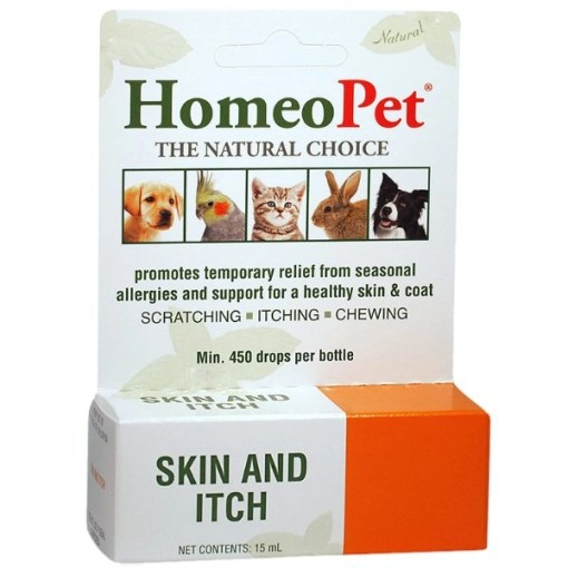 HomeoPet Skin & Itch Pet Supplement, 15-mL SKU 0495914712