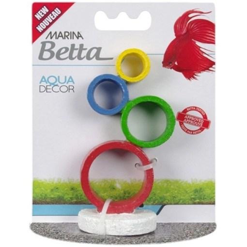 Marina Betta Circus Rings Aqua Decor SKU 1556112233