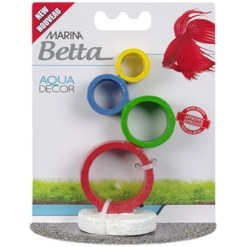 Marina Betta Circus Rings Aqua Decor SKU 1556112233