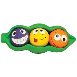 Multipet Peas in a Pod Squeaky Balls Dog Toy 8436961245