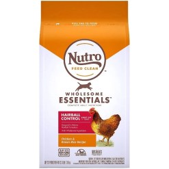 Nutro Wholesome Essentials Hairball Control Chicken & Brown Rice Recipe Adult Dry Cat Food, 3-lb SKU 7910511754