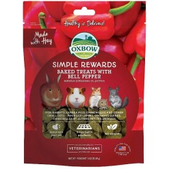 Oxbow Simple Rewards Oven Baked with Bell Pepper Small Animal Treats, 3-oz SKU 4484596018