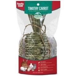 Oxbow Timothy Club Carrot Small Animal Treat SKU 4484540318