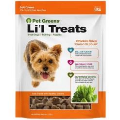 Pet Greens Roasted Chicken Semi-Moist Li'l Dog Treats, 6-oz SKU 6982863630