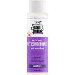 Skout's Honor Probiotic Lavender Pet Conditioner, 16-oz Bottle SKU 5671300555