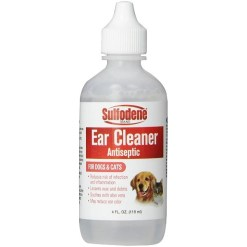 Sulfodene Ear Cleaner Antiseptic for Dogs & Cats, 4-oz SKU 3907903854