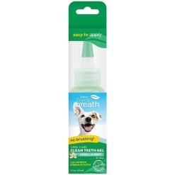 TropiClean Fresh Breath Clean Teeth Vanilla Mint Oral Care Gel, 2-oz SKU 4509500230
