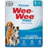 Wee-Wee Superior Performance X-Large Dog Pee Pads, 6 Count SKU 4566301646