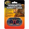Zoo Med Dual Analog Thermometer and Humidity Gauge SKU 9761230028
