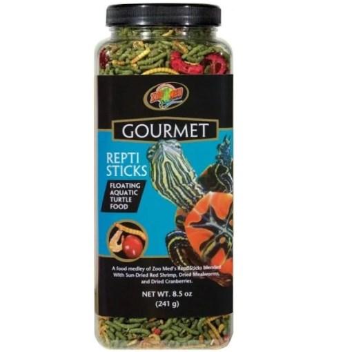 Zoo Med Gourmet ReptiSticks Floating Aquatic Turtle Food, 8.5-oz SKU 9761240039