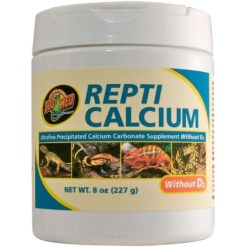 Zoo Med Repti Calcium without D3 Reptile Supplement, 8-oz SKU 9761213303