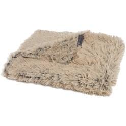 Best Friends by Sheri Throw Shag Dog & Cat Blanket, Taupe SKU 1740302500