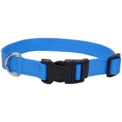 Coastal Adjustable Dog Collar with Plastic Buckle, Blue Lagoon, 12 in. SKU 7648473012