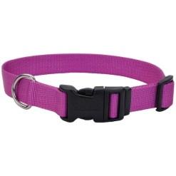 Coastal Adjustable Dog Collar with Plastic Buckle, Orchid, 26 in. SKU 7648469003