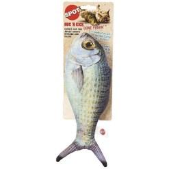 Ethical Pet Hug'N Kick Gone Fishin' Cat Toy, Color Varies SKU 7723452117