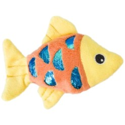 Ethical Pet Shimmer Glimmer Fish with Catnip Cat Toy, Color Varies SKU 7723452075