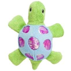 Ethical Pet Shimmer Glimmer Turtle with Catnip Cat Toy, Color Varies SKU 7723452076