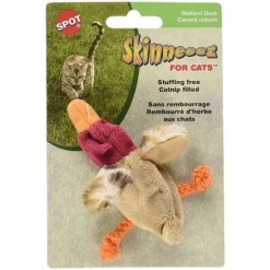 Ethical Pet Skinneeez Barnyard Creature Cat Toy with Catnip, Color Varies SKU 7723402681