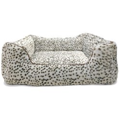 Ethical Pet Sleep Zone Step in Pet Bed, Snow Leopard, 18 in SKU 7723431051