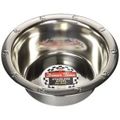 Ethical Pet Stainless Steel Embossed Bowl, 2-qt SKU 7723406242