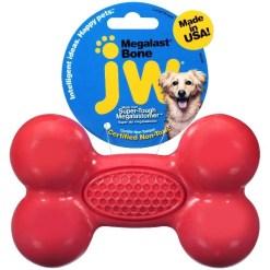 JW Megalast Bone Dog Toy, Color Varies, Large SKU 1894046305