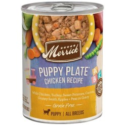 Merrick Grain Free Wet Puppy Food Puppy Plate Chicken Recipe, 12.7-oz SKU 2280800288