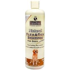 Natural Chemistry Natural Flea Tick Shampoo with Oatmeal for Dogs, 16-oz SKU 1710811205