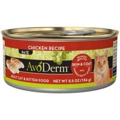 AvoDerm Chicken Recipe Canned Cat Food, 5.5-oz SKU 5290702214