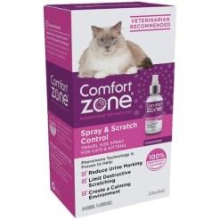 Comfort Zone Spray & Scratch Control Calming Spray for Cats, 2-oz SKU 3907900214