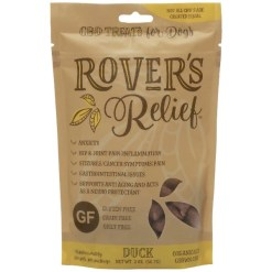 Rover's Relief 1MG CBD Freeze Dried Bites - 100% THC Free, 60 Pieces SKU 8014054562