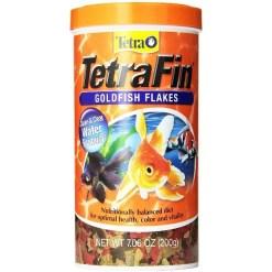 TetraFin Goldfish Flakes Fish Food, 7.06-oz Jar SKU 4679816140