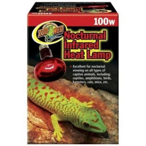 Zoo Med Repti Infrared Heat Lamp, 100 watt Bulb SKU 9761233100