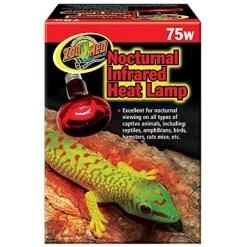 Zoo Med Repti Infrared Heat Lamp, 75 watt Bulb SKU 9761233075