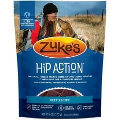 Zuke's Hip & Joint Beef Recipe Dog Treats, 6-oz SKU 1342321111