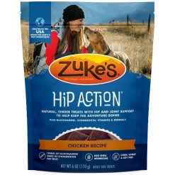 Zuke's Natural Hip & Joint Action Chicken Recipe Dog Treats, 6-oz SKU 1342321110
