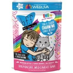 BFF Tuna & Chicken Charm Me Dinner in Gravy Wet Cat Food Pouch, 3-oz SKU 7840800897