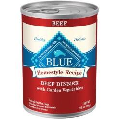 Blue Buffalo Homestyle Recipe Beef Dinner Canned Dog Food, 12.5-oz SKU 4024310495