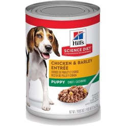 Hill's Science Diet Puppy Chicken & Barley Entree Canned Dog Food, 13-oz, Case of 12 SKU 5274270361