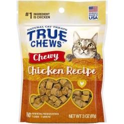 True Chews Chewy Chicken Recipe Cat Treats, 3-oz SKU 3140008441