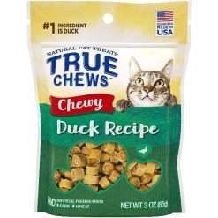 True Chews Chewy Duck Recipe Cat Treats, 3-oz SKU 3140008440