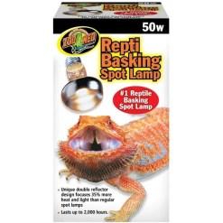 Zoo Med Repti Basking Reptile Spot Lamp, 50 watt Bulb SKU 9761236050