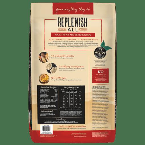 Replenish ALL Multi-Protein 44lb back