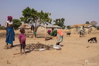 Cette famille vit essentiellement de l'élevage de vaches zébu et de chèvres, mais la culture du sorgho et du maïs est une importante source de nourriture et de revenu.