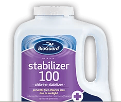 Bioguard Stabilizer 100 Available At Pettit Fiberglass Pools