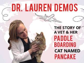 Dr. Lauren Demos: The Story of a Vet & Her Paddle Boarding Cat Named Pancake
