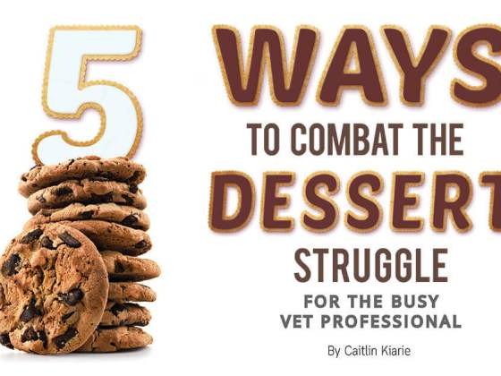 Five Ways to Combat the Dessert Struggle for the Busy Vet Professional