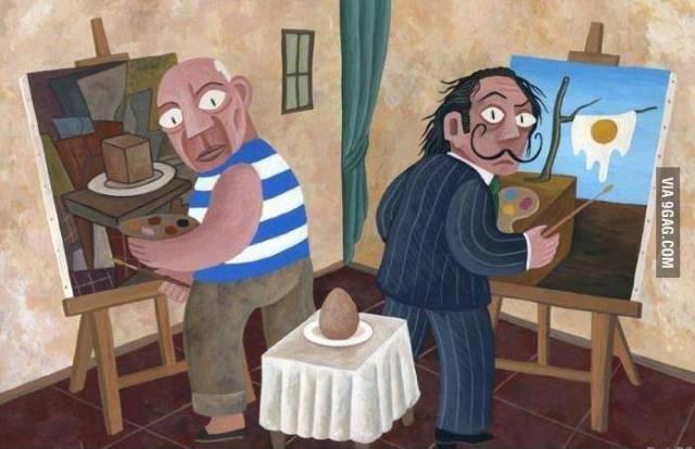 Picasso-Dali